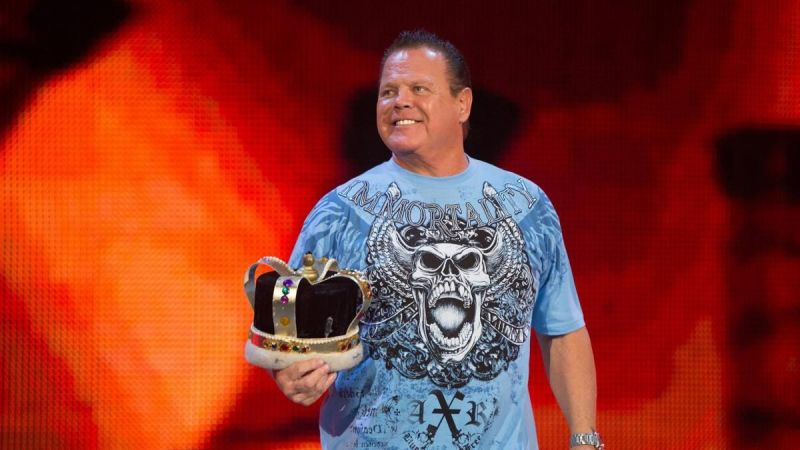 Jerry Lawler commentates on RAW with Vic Joseph