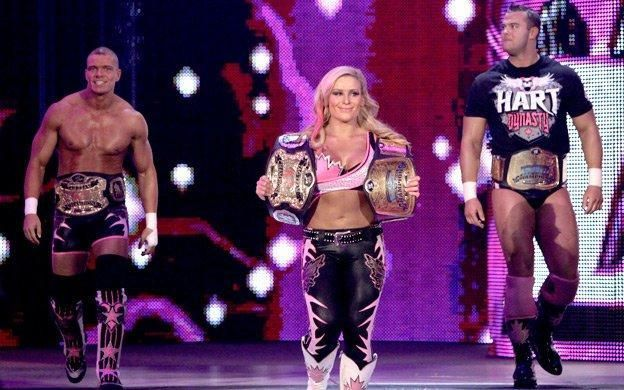 The Hart Dynasty with all of the gold.