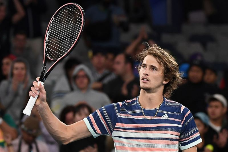 Alexander Zverev has made it to his first Grand Slam semi-final