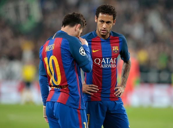 Neymar remains continuously linked with a return to the Camp Nou.