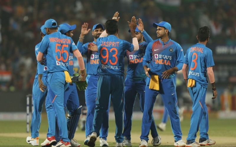 The Indian team is on a roll