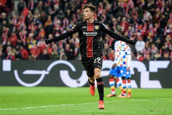 Manchester United are monitoring German sensation Kai Havertz