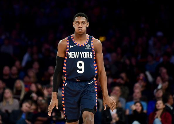 RJ Barrett has made a bright start to life in the NBA