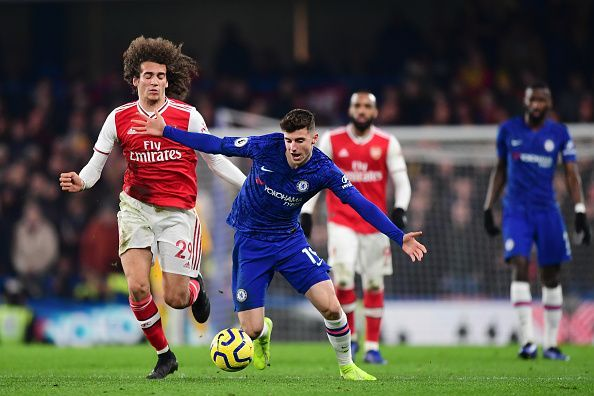 It was an exciting London derby as Chelsea and Arsenal shared points