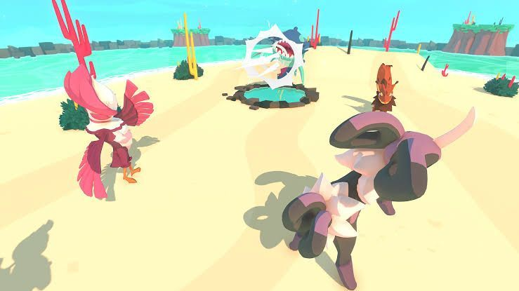 Temtem is inspired by Pokemon