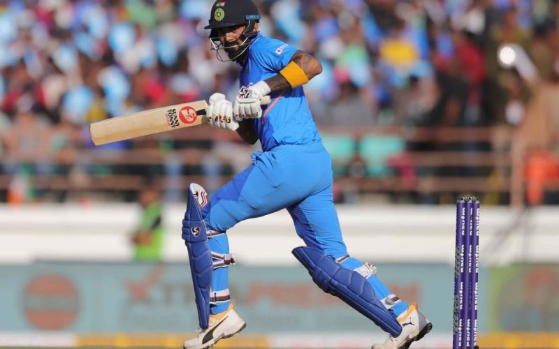 KL Rahul smashed a quickfire 80