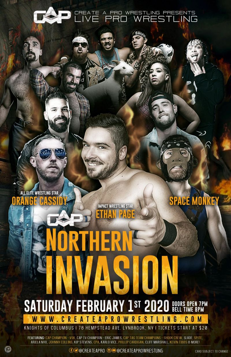 Official poster for Northern Invasion