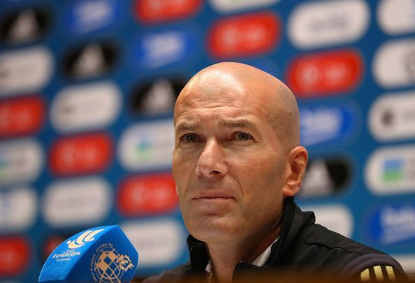 Zidane has won 10 trophies as a manager
