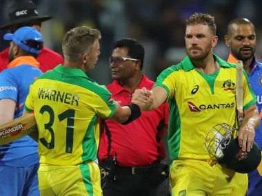 India lost the first ODI against Australia