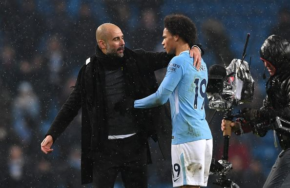 Leroy Sane and Pep Guardiola have reportedly had a rocky relationship at Manchester City