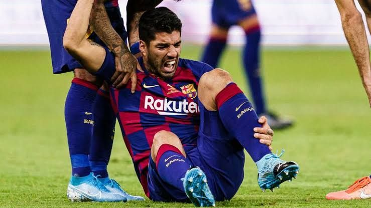 Luis Suarez is probably out for the remainder of the season
