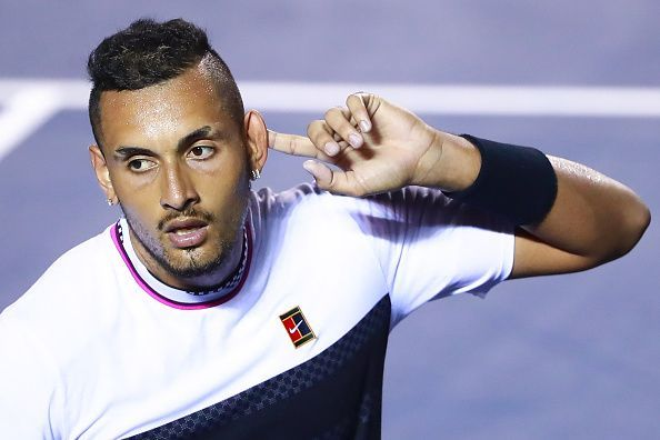 Nick Kyrgios was recently a part of the Rally for Relief event