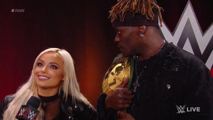 Liv Morgan interrupts R-Truth