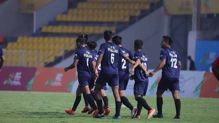 Football event - Khelo India Youth Games