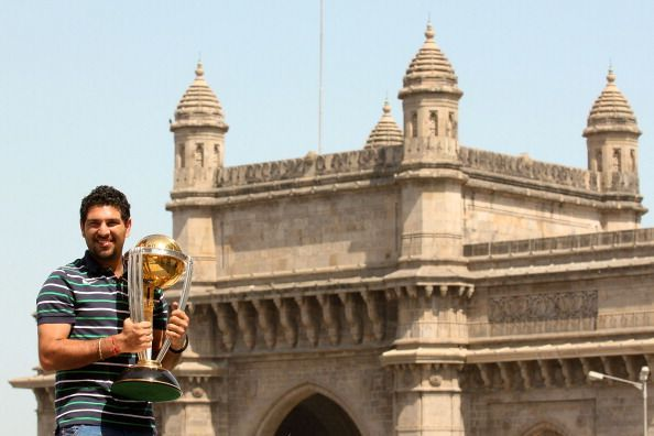 Yuvraj Singh won the player of the tournament for his all-round performances in CWC 2011