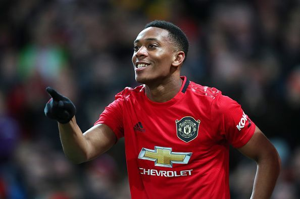 Anthony Martial capped off a fine performance with a well-taken goal