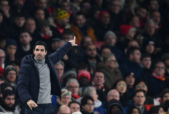 Mikel Arteta will be expecting some transfer business in January