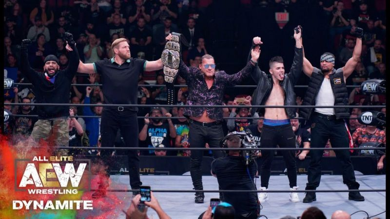 Where does the formation of The Inner Circle rank in AEW
