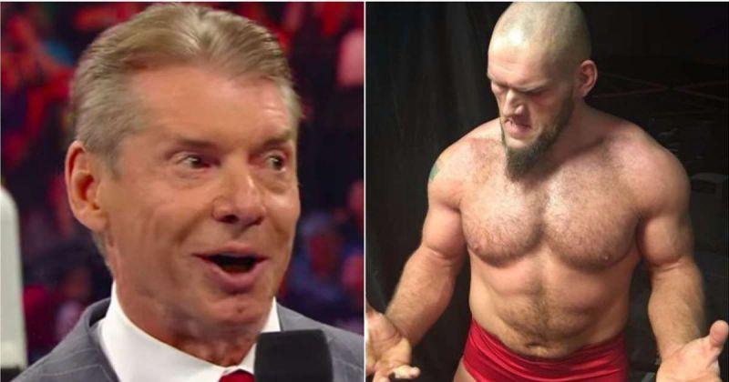 Vince McMahon and Lars Sullivan