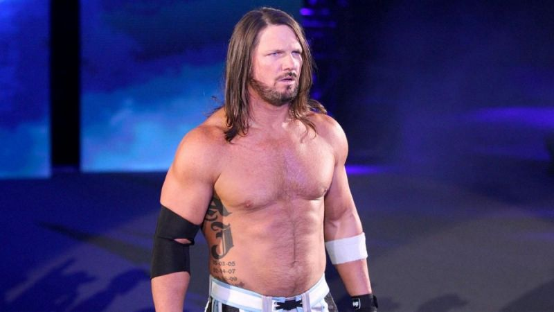 Styles has been at the top for the majority of his run in WWE