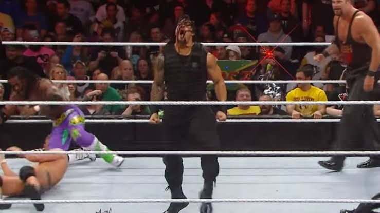 Roman Reigns holds the record for most eliminations in a Royal Rumble match