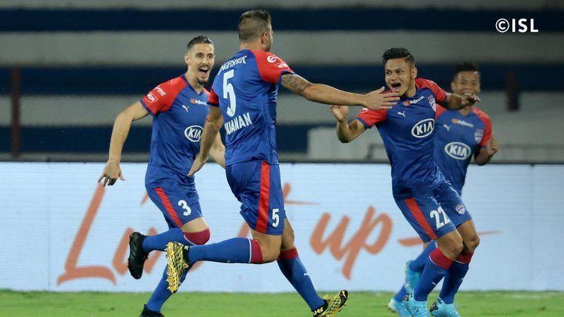 Bengaluru FC scraped past Hyderabad FC 1-0