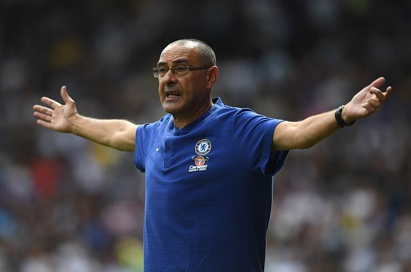 Frank Lampard succeeded Europa League-winning manager Maurizio Sarri
