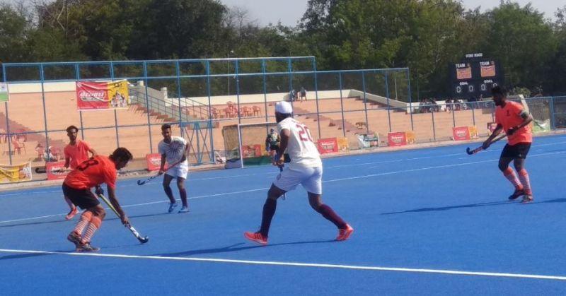 Day 6 of the Hockey India Senior Men