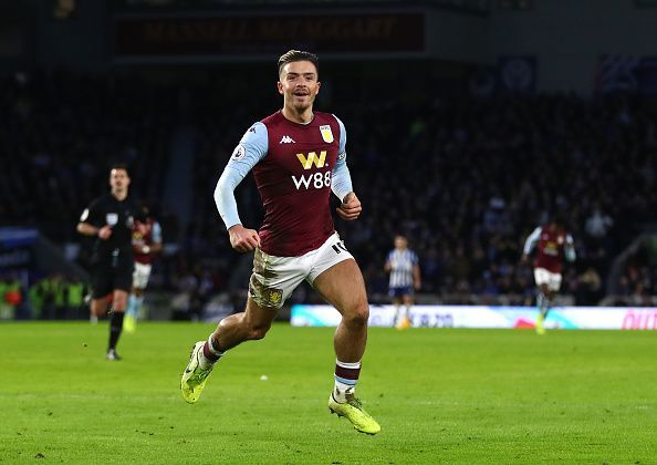Jack Grealish is one of the Premier League