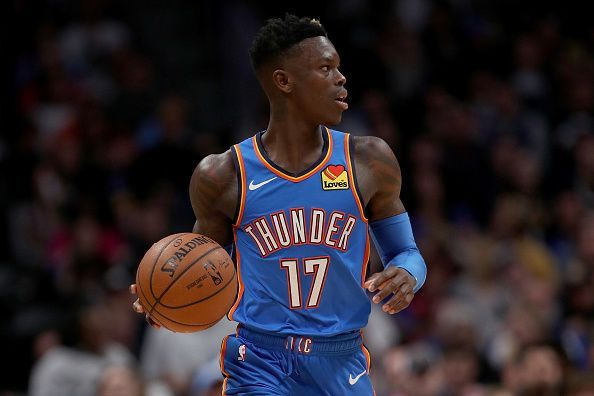 Dennis Schroder has made a big impact from the Oklahoma City Thunder bench