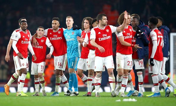 Arsenal produced a brilliant display against Manchester United