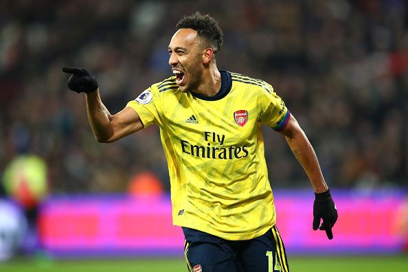 Aubameyang was heavily linked with an exit from the Emirates in recent weeks