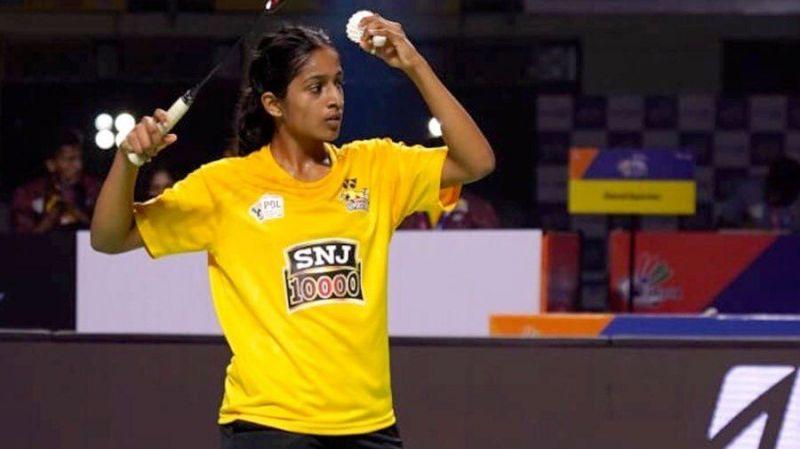 Gayathri Gopichand in action for Chennai