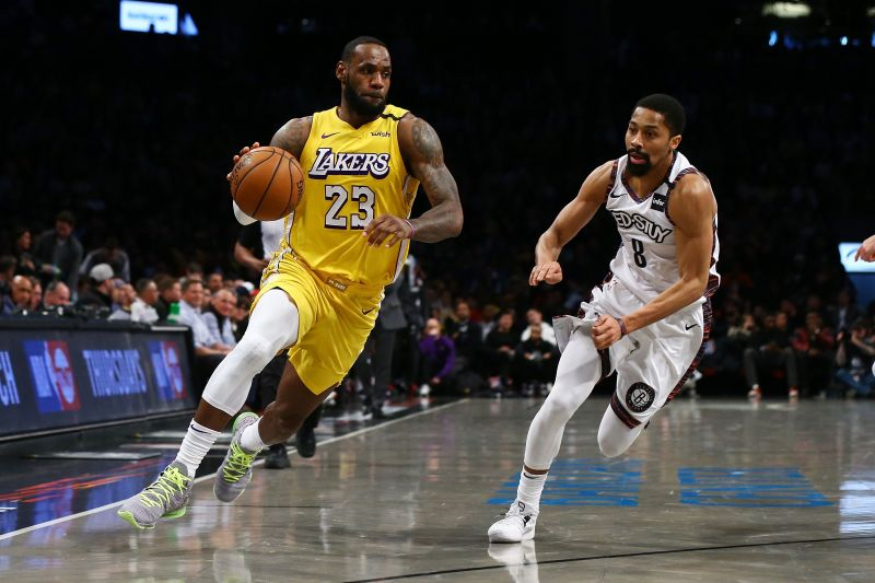 The Los Angeles Lakers are 36-9 this season in the NBA