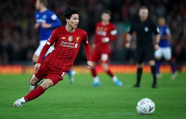 Takumi Minamino recently made his Liverpool debut in the Merseyside derby