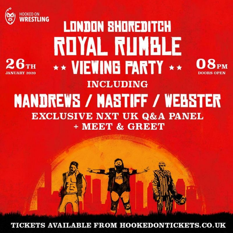 Shoreditch is set to host a huge Royal Rumble Viewing Party!