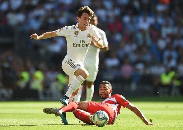 Álvaro Odriozola is set to leave Real Madrid on loan this month.