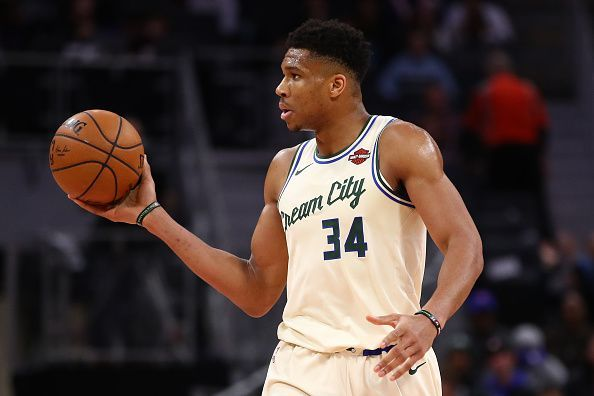 Giannis is on course to bag back-to-back MVPs