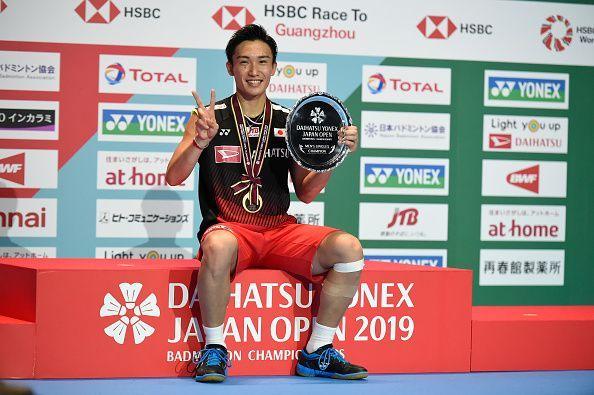 Kento Momota reigned supreme in 2019