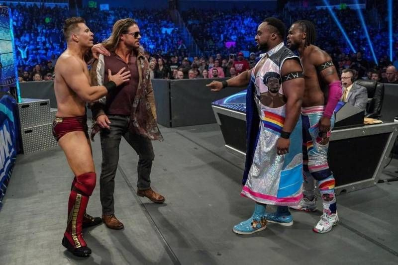 These four could put on a magnificent tag team match