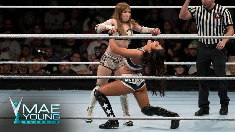 Behind the scenes (Pic Source: WWE)