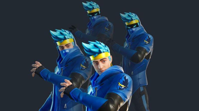 Ninja skin with variations, Credits: Fortnite Boards