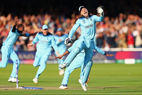 England won their first World Cup last year