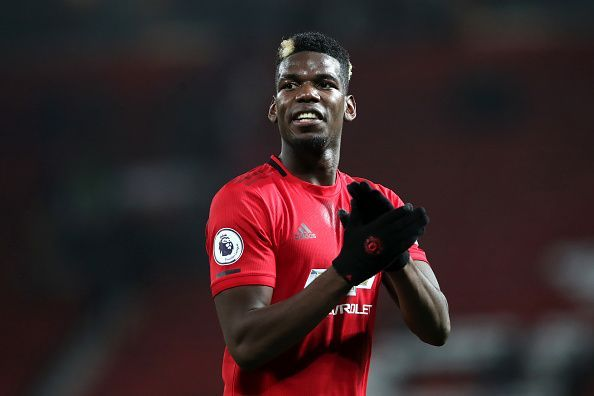 Pogba has missed much of this season with injury