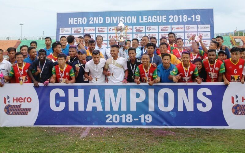 Second Division League champions