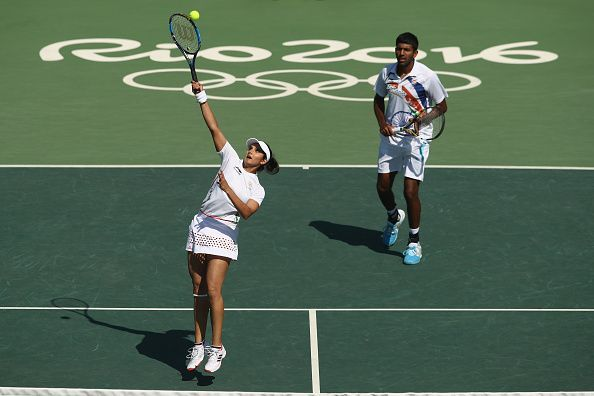 Rohan and Sania finished fourth at Rio Olympics 2016