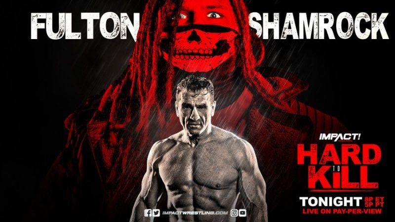 Ken Shamrock was in a quick but solid opener