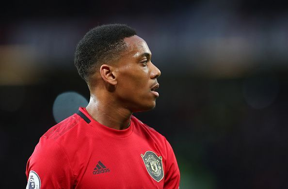 Anthony Martial has been inconsistent at Manchester United