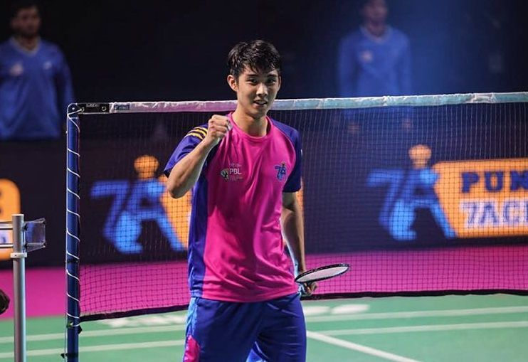 Loh Kean Yew of Pune 7 Aces (Image Credits - PBL)
