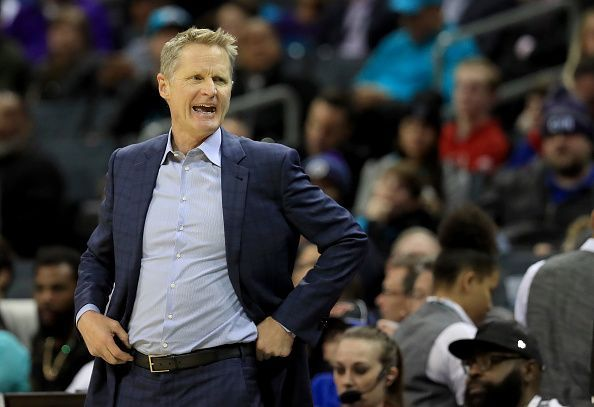 Warriors coach, Steve Kerr, has been fined $25,000 for verbally abusing an official